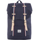 Herschel Retreat Mid-Volume Backpack Peacoat/Windsor Wine/White